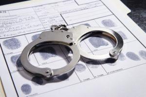 arrest record handcuffs